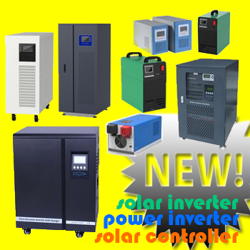 solar inverter and charge controller